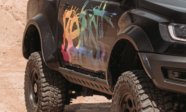 Radabdeckung Ford RangerRaptor