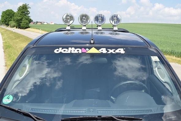 Sonnenschutzfolie delta 4x4