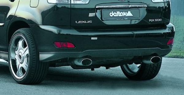 Auspuffanlage Edelstahl Lexus