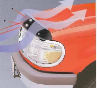 Windabweiser Motorhaube Toyota