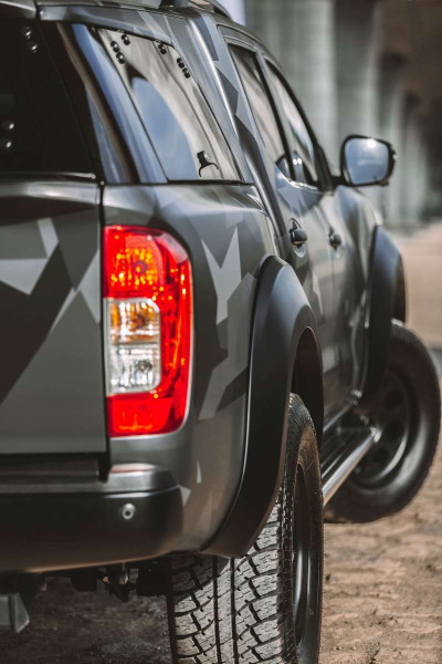 Radabdeckung Nissan Navara