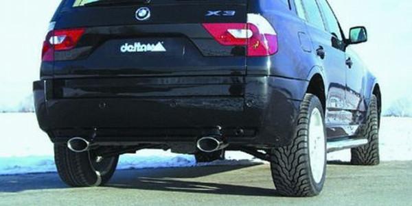 Auspuffanlage BMW X3 3,0i Benz
