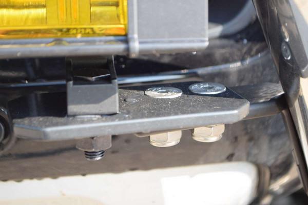 Scheinwerferhalter basic 76mm