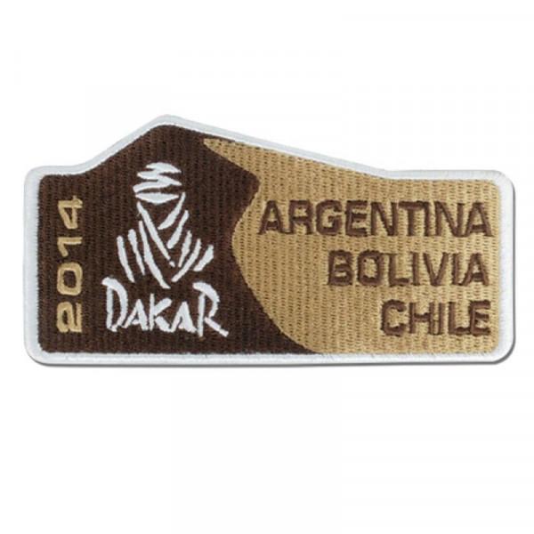 Patch Logo Rallye Dakar 2014