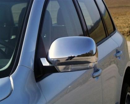 Chrom-Spiegel-Cover VW Touareg