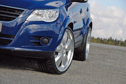 Radabdeckung VW Tiguan 5N set
