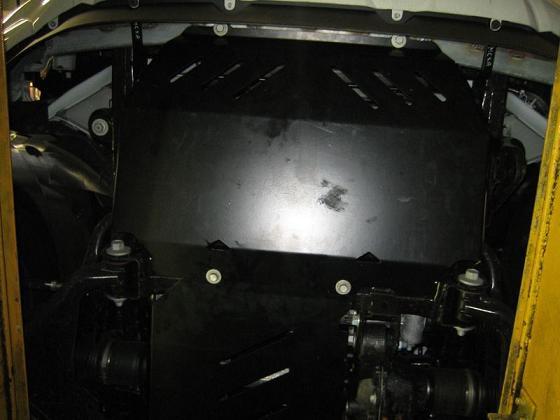 Unterfahrschutz Front Ford
