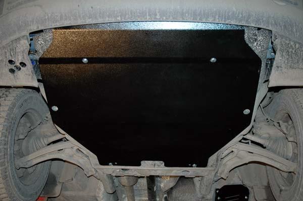 Unterfahrschutz Mitte VW