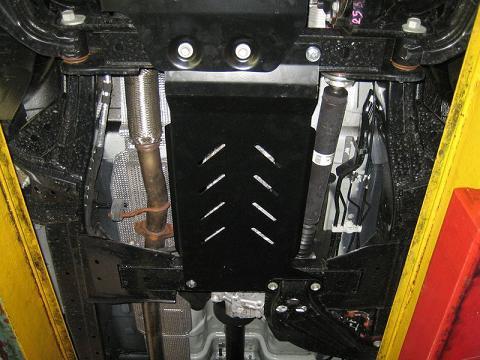 Unterfahrschutz Mitte Ford